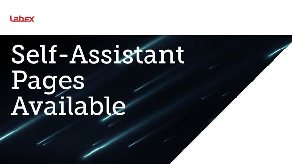 Self Assistant Pages Available Labex Trade