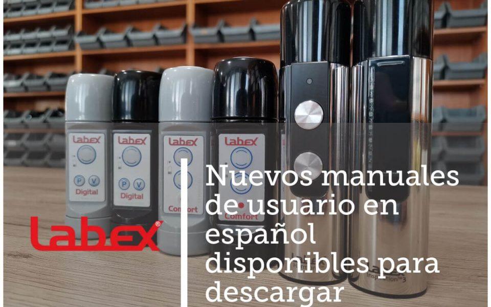 New Spanish User Manuals Labex Trade